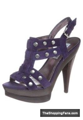 awsome purple sandals heels  The Shopping Fans