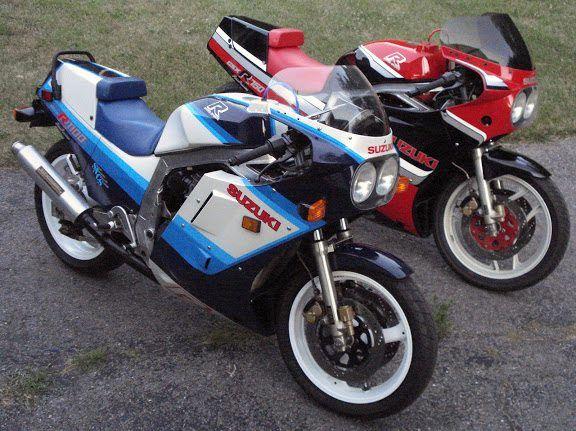 GSXR 1100 & 750
