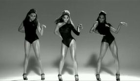 Beyoncé in her smash hit music video Single ladies introducing the trend of the leotard back into fashion.