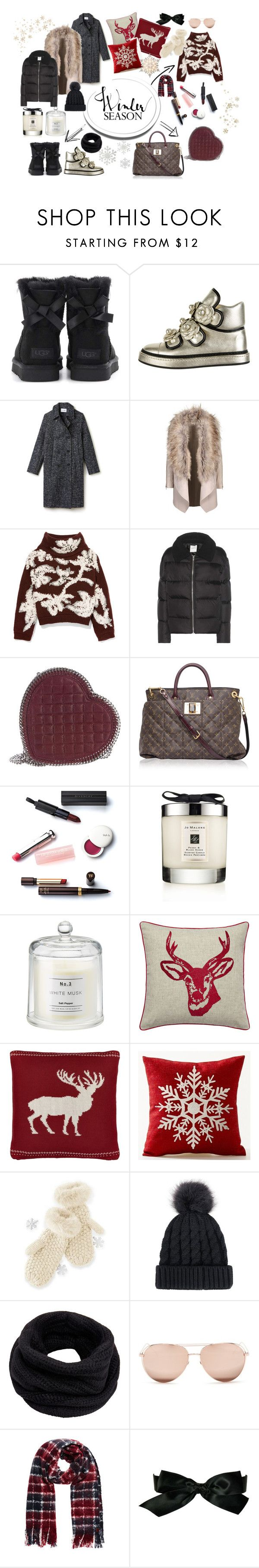 """""""Winter Season"""" by grace-n-fashion ❤ liked on Polyvore featuring UGG, Chanel, Lacoste, Brunello Cucinelli, Wood Wood, STELLA McCARTNEY, Louis Vuitton, Christian Dior, Jo Malone and John Lewis"""
