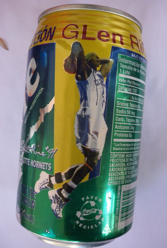 Coke Blog - Coca-Cola Blog: 2000s Sprite Porto Rico Kobe Briant and Glen Rice
