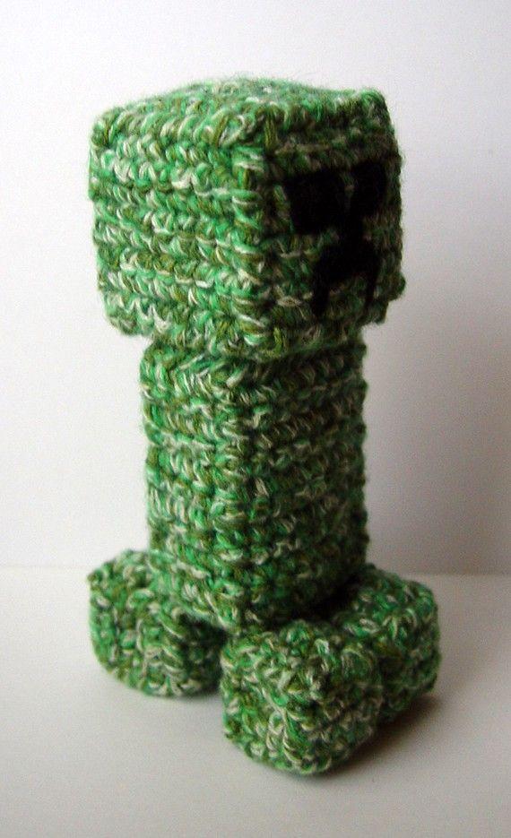 Fine Minecraft Creeper Crochet Pattern Composition Sewing Pattern