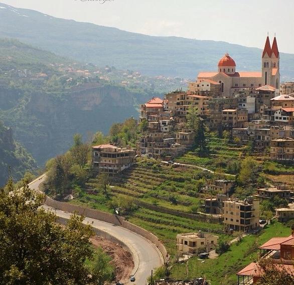 Lebanon ❤, view of Bsherri
