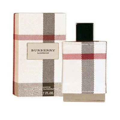 Burberry London By Burberry For Women. Eau De Parfum Spray 1.7 Oz. by Burberry. $39.99. Recommended Use: daytime. 100 % Genuine Fragrance.. Concentration: Eau De Parfum. Size: 1.7 OZ. Year Introduced: 2006. Burberry London Eau de Parfum Spray Fragrance Notes: Tangerine patchouli musk honeysuckle jasmine sandalwood tahitian flower rose and peony.