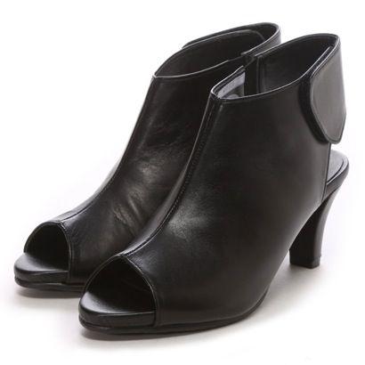 サラマンダー SALAMANDER 6.5cmブーティーサンダル(ブラック) -「買ってから選ぶ。」靴とファッションの通販サイト ロコンド