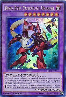 Yugioh arc v rune eyes pendulum dragon
