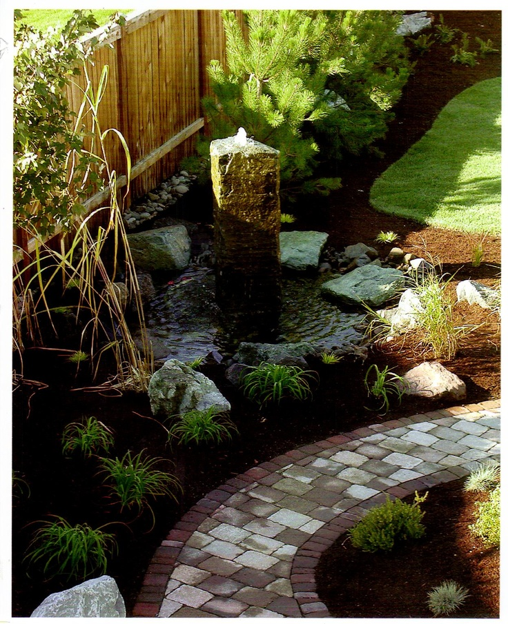28 best water feature ideas images on pinterest water for Garden fountains portland oregon