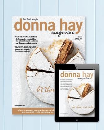 donna hay magazine winter issue, 2013