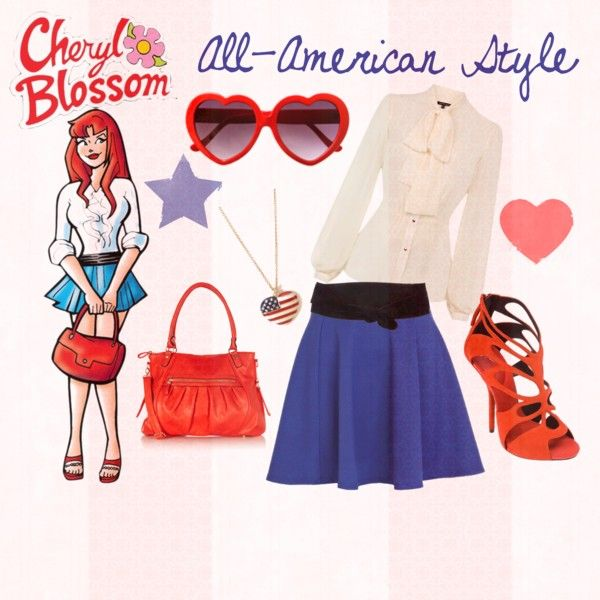 """Perfect Fit T Shirt Wherever You Find Love It Feels Like: """"Cheryl Blossom's All-American Style"""" By"""