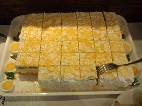 Postalo je uobičajeno predjelo na slavama i svečanim dogadjajima, slana torta nudi hiljade načina pripreme, otvara mogućnosti da se razigra mašta... i svi