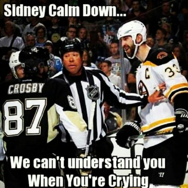 "So the Penguins fans are REALLY bent out of shape regarding the comment that a JetBlue pilot made and are supposedly boycotting the airline now. The pilot heard a baby crying on his flight and got on the intercom and asked if ""Sidney Crosby was in the back crying""! Hahaha!!!  Oh lord, someone please call the waaambulance for these damn Penguins fans!"