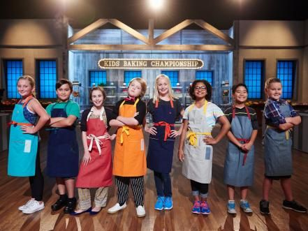 Get to know the eight super-talented young bakers competing in Kids Baking Championship.