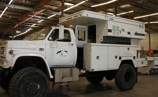 Four Wheel Campers and Torklift participate in one of the most outrageous uses of a camper ever conceived. Introducing the Survivor Truck Bug Out Vehicle.