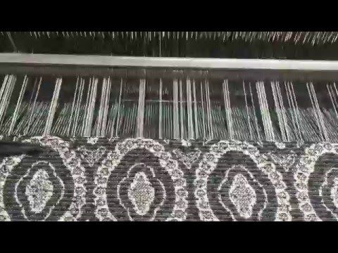 Jacquard Loom - short clip - YouTube
