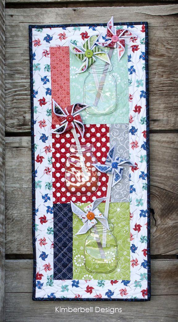 Kimberbell KD517 Holiday and Seasonal Mug Rugs pattern Normal