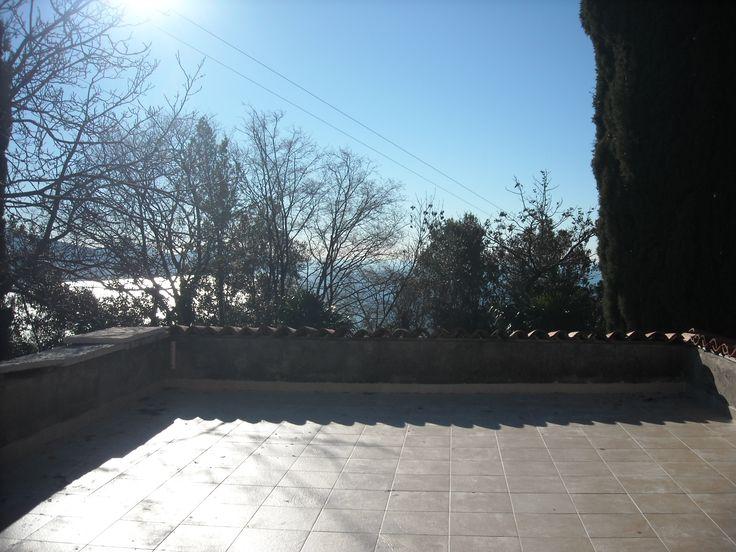 Rustico a Gargnano: solarium appartamento Isotta