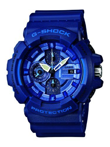 Casio G-SHOCK Blue and Red Series Men Watch GAC-100AC-2AJF LIMITED EDITION (Japan Import)