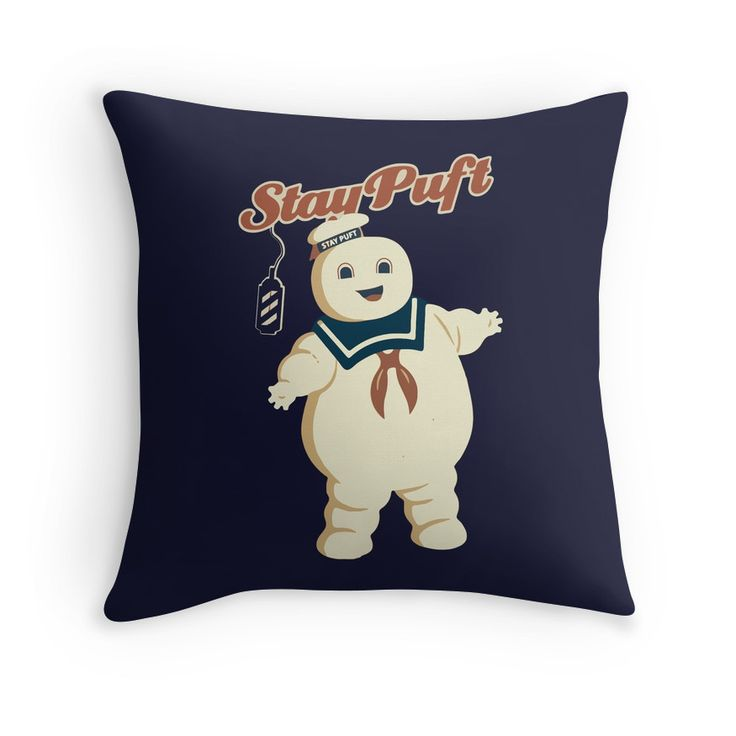 STAY PUFT - MARSHMALLOW MAN GHOSTBUSTERS by SUPER-TEES