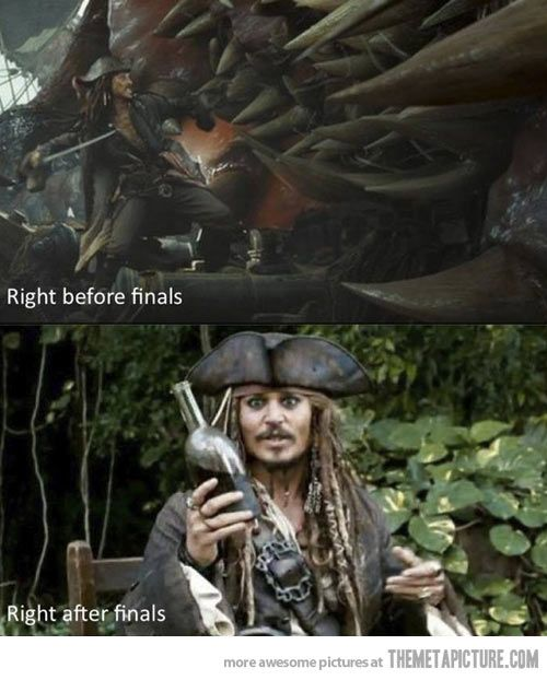 Jack Sparrow and Finals and RUM
