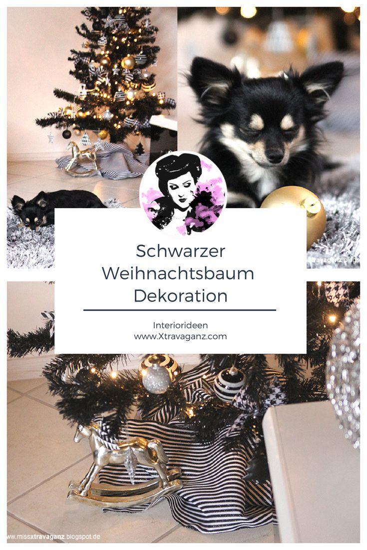 25 einzigartige unechter weihnachtsbaum ideen auf pinterest weihnachtsdeko h ngend - Schwarzer weihnachtsbaum ...