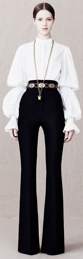 Alexander McQueen Pre-Fall 2013 ♥✤ | Keep the Glamour | BeStayBeautiful                                                                                                                                                                                 More