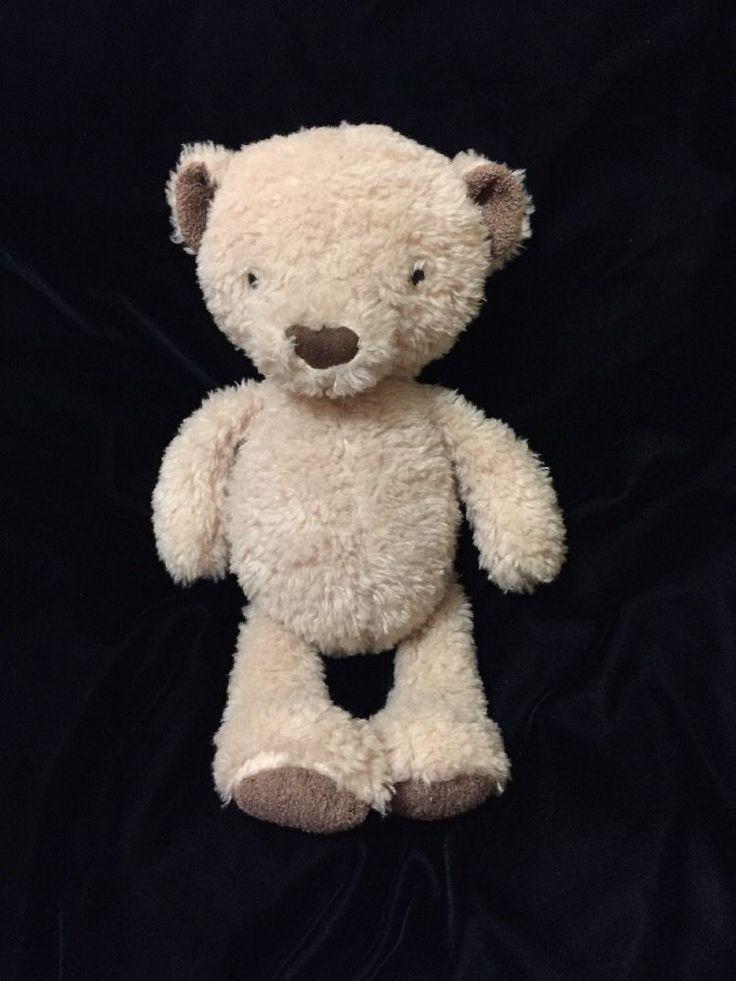 Jellycat Vintage Bear Plush Soft Toy Tan Brown Beige Stuffed Animal Teddy Floppy #jellycat