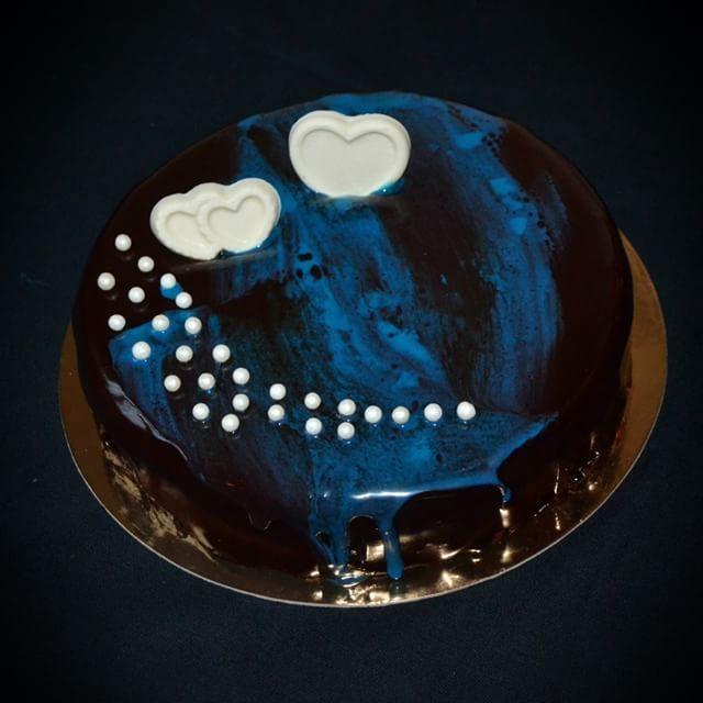 #евроторт#евродесерт#ккофе#шокомусс#песочноешоколад#безмастики#гляссаж#dessert#sweetcake