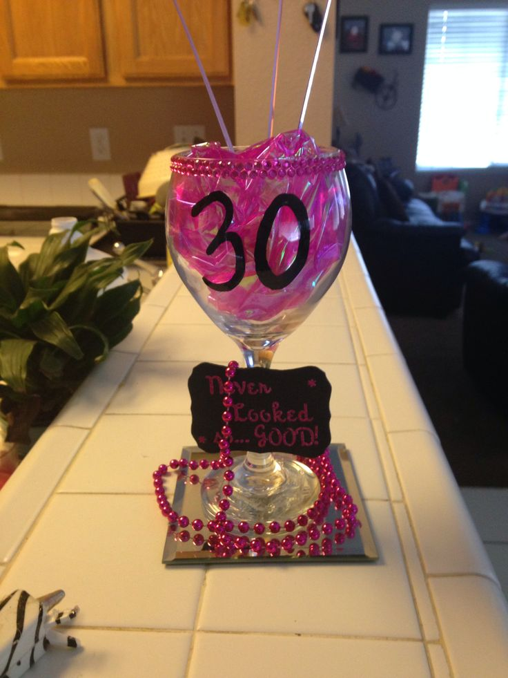 30th birthday centerpieces my creations pinterest for 30th birthday decoration ideas for her