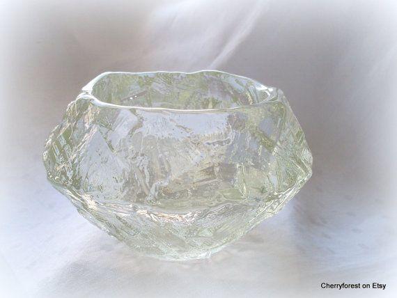 Scandinavian glass Göte Augustsson Ruda Småland by Cherryforest