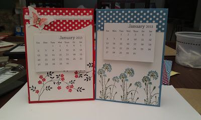Creating Cards with Andrea: Desk Calendars                                                                                                                                                                                 More