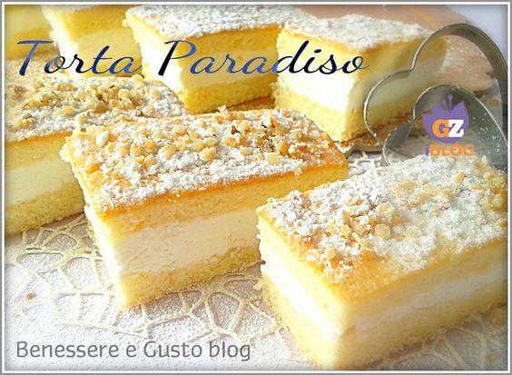 Torta Paradiso, Merendina Kinder, Ricetta semplice. Una delicata crema golosa che incontra tutto il sapore genuino di una soffice torta paradiso al profumo di limone.