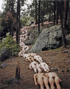 New Mexico 2 (Jemez Valley, SITE Santa Fe) 2001 Spencer Tunick
