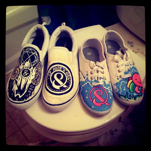 Of Mice And Men Band Quotes | Of Mice and Men Shoes by ~MonteyRoo on deviantART