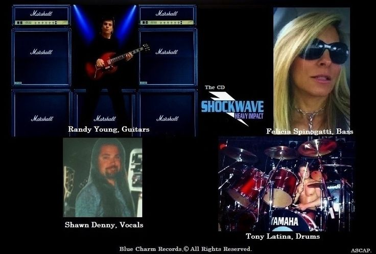 Shockwave CD-  Heavy Impact. Available every where on Blue Charm Records. Click image again to visit website.