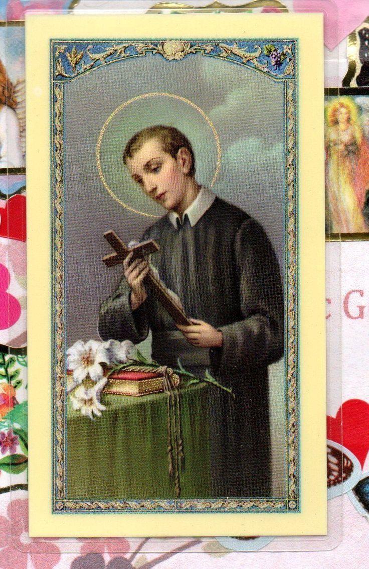 Saint St. Gerald Majella - Prayer for Safe Delivery - Laminated  Holy Card 2 • CAD $1.77