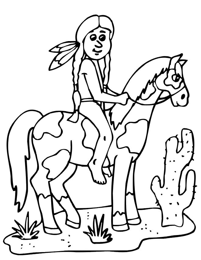 Inspirational Indian Coloring Book