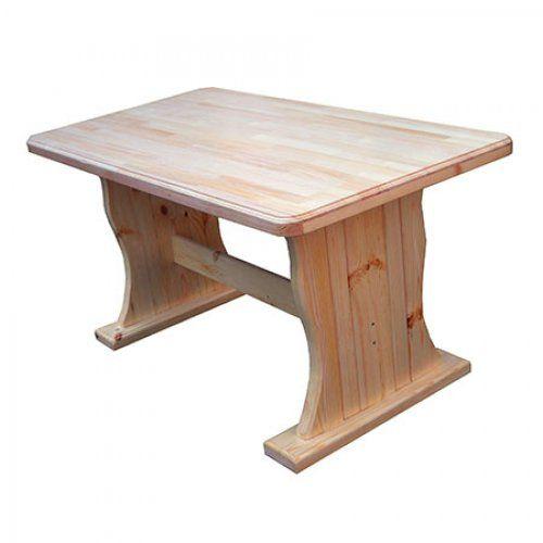 Садовый стол из массива дерева МФДМ Московия (лак)