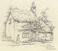 Anton Pieck (1895-1987) - Churchtown