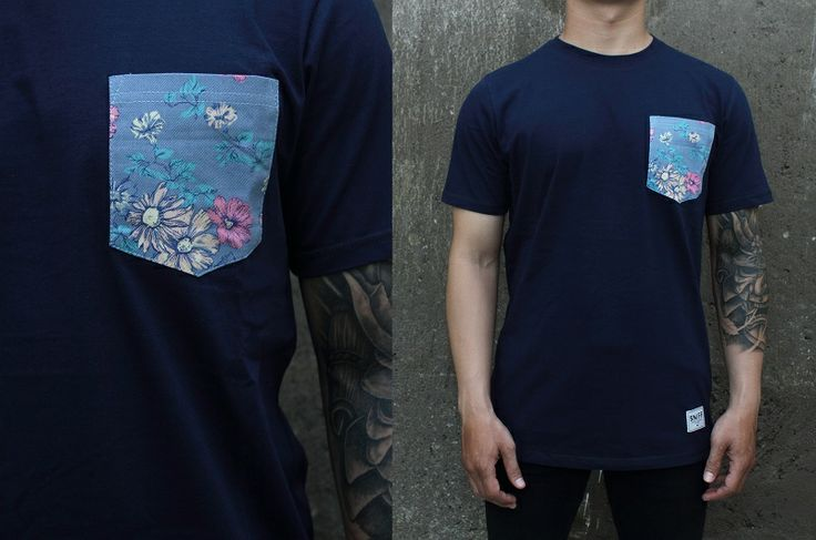 """#newarrival Sniff Pocket tees  """"BLUE BLOSSOM"""" idr. 118k Available size S till XL  for order text us/whatsapp to +628814016624 / PIN: 3215D5D2 / Line: Sniffsupply. / instamessage: sniffsupplyco"""