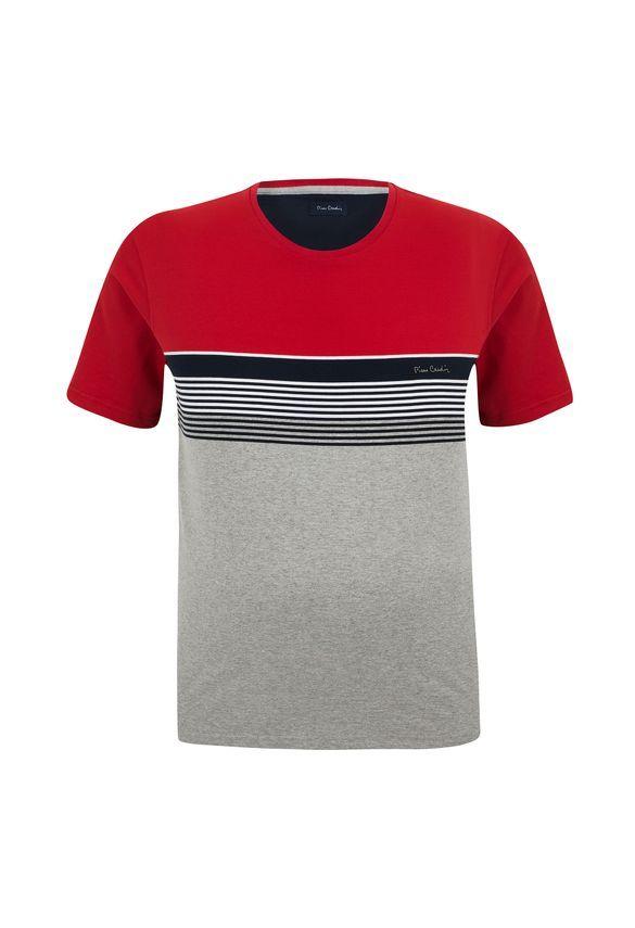 933c4b389f Camiseta Plus Size Listrada Bridge - Pierre Cardin Loja Oficial ...