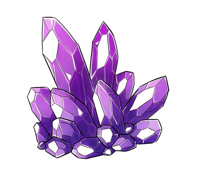 рисунок кристаллов аметиста актёров были