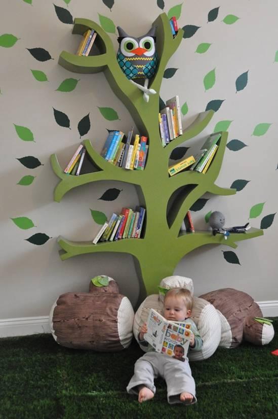 Дерево-полка. Комната Вашего малыша станет неповторимой. http://www.my-baby.ua/