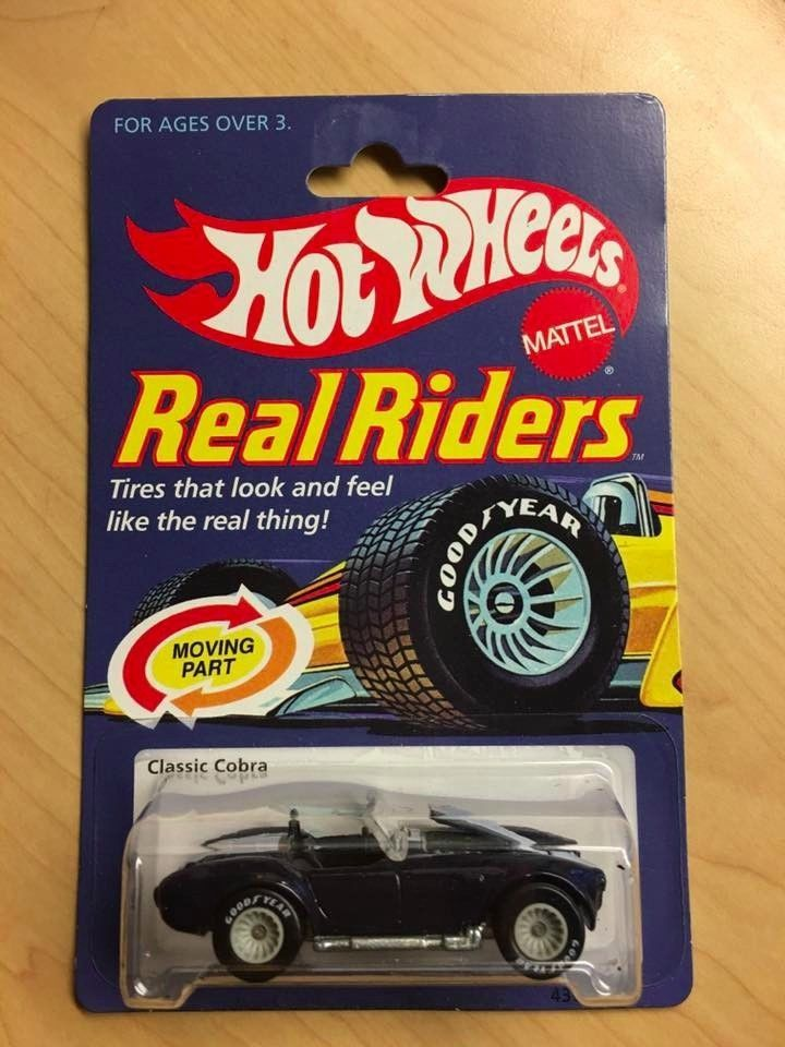 Hot Wheels Real Riders1983 Shelby Cobra Real Riders Black With Strips  | eBay