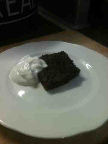 Vicki-Kitchen: Chocolate brownies (slimming world friendly)