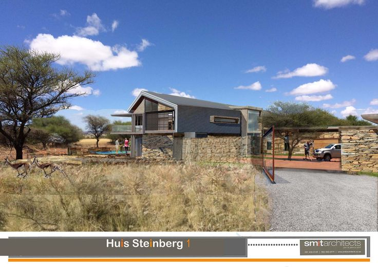 House De Ville, Douglas, Northern Cape, South Africa (Photo Collage and Photoshop) Option 1