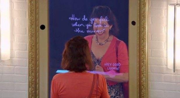 Espejito, espejito: ¿quién es la más bonita? Este mágico espejo tiene la mejor respuesta