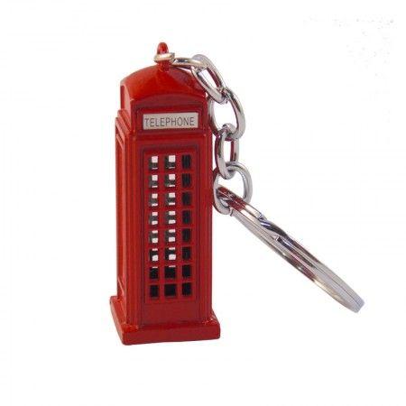 Chaveiro Londres - Cabine de Telefone