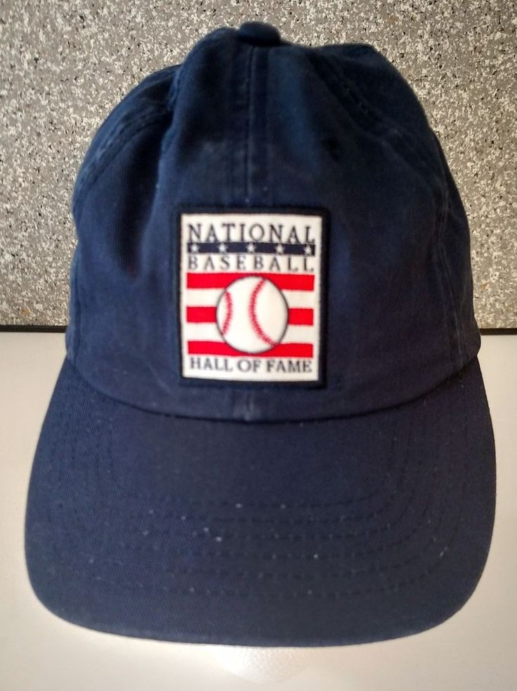 National Baseball League Child Baseball Cap One Size Adjustable Cotton Blue #KidnMe #NationalBaseballLeague