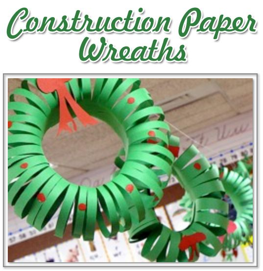 393 best bright ideas for the holidays images on pinterest for Holiday crafts with construction paper