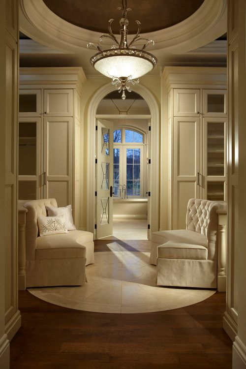 10 best images about classy dressing rooms closets on for Master bedroom dressing room ideas